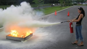 Fire extinguisher training courses in ireland